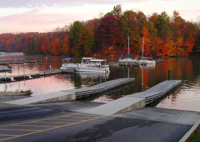 Clear  Fork Marina Boat Ramp & Boarding Dock Project