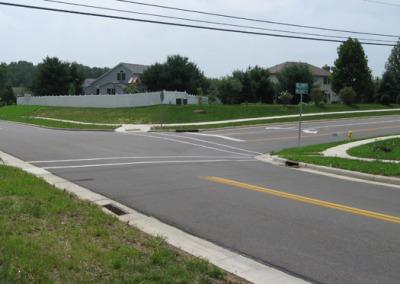 Milltown Road/Melrose Drive Roadway Reconstruction Design