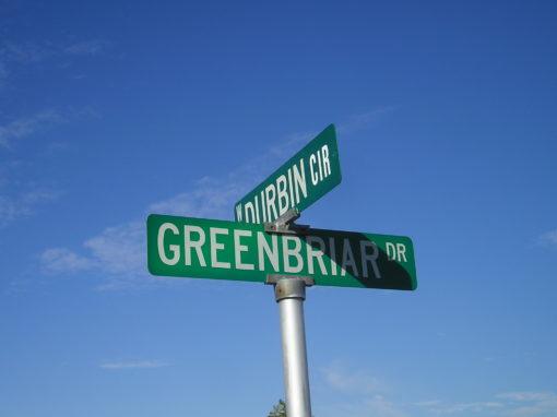 Greenbriar Subdivision