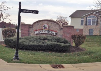 Heritage Blackberry Subdivision